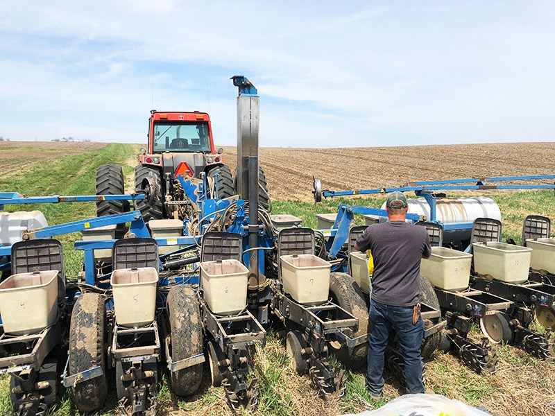 Refilling 2600 Kinze Seed Boxes