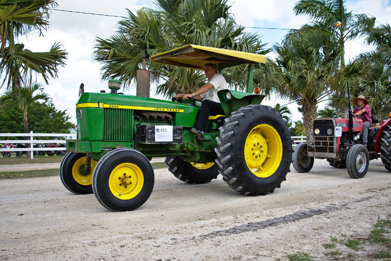 Tractor Size
