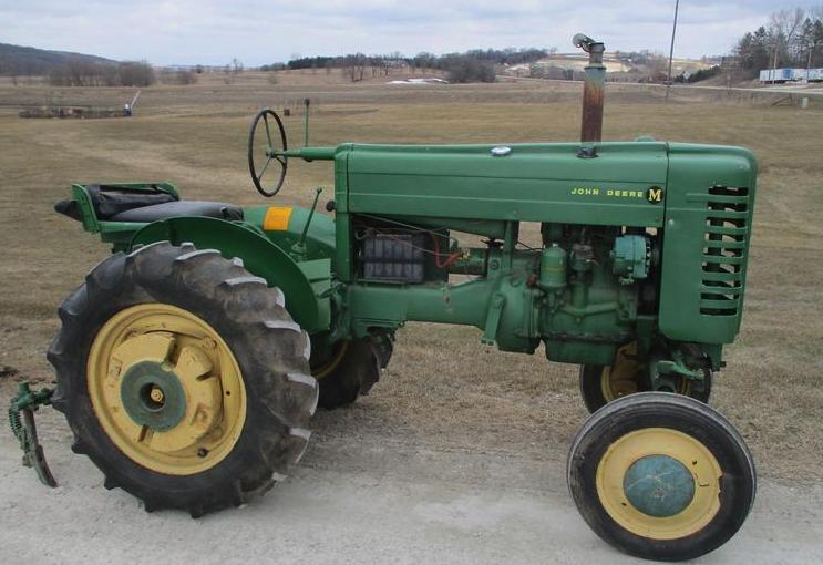 John Deere M Tractor