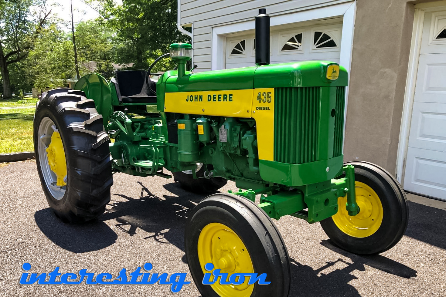 John Deere 435