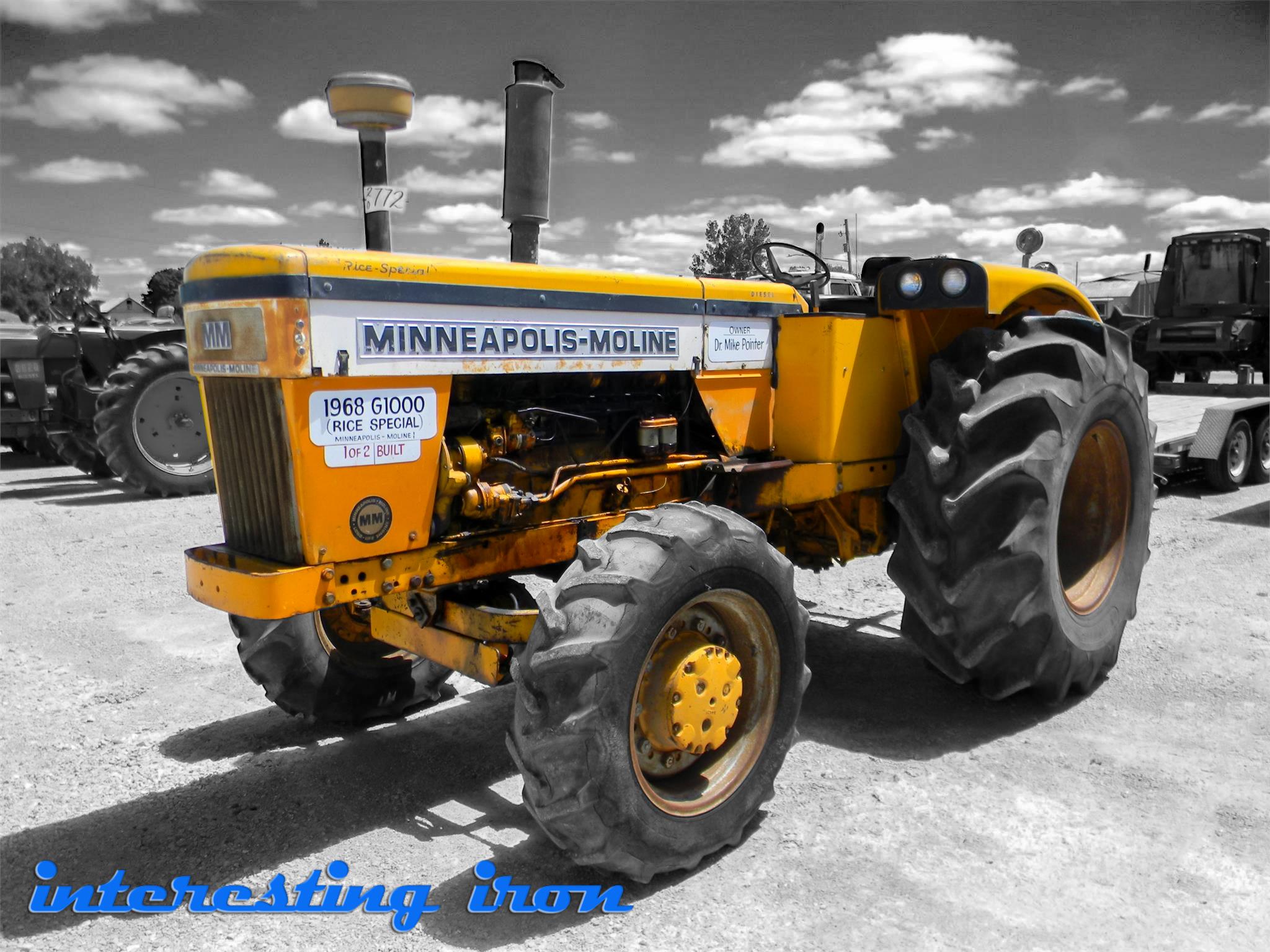 """Minneapolis Moline G1000 Wheatland """"Rice Special"""" FWA"""