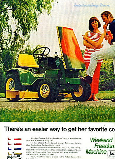 Patio Series Tractor ad 2