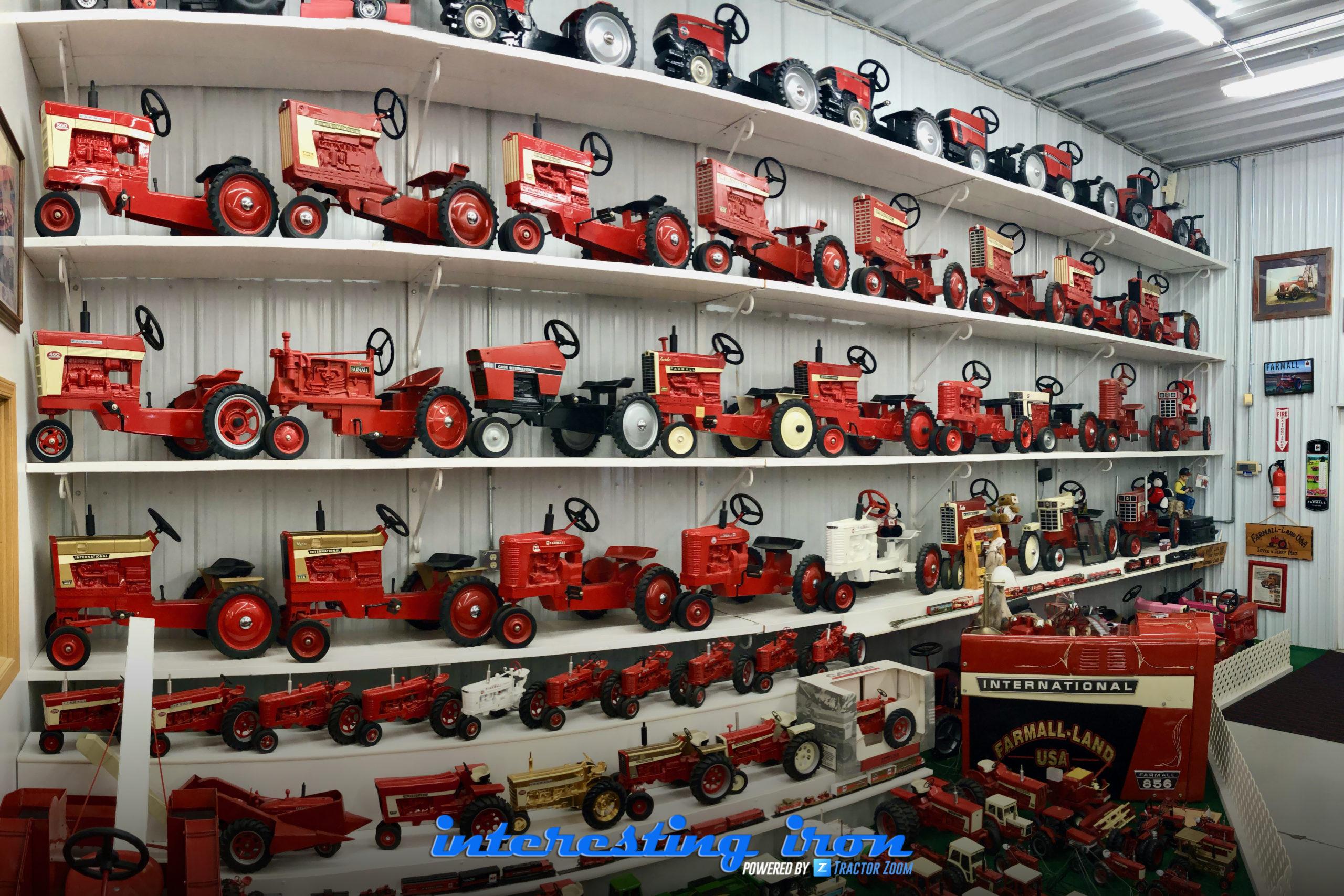 Farmall pedal tractors