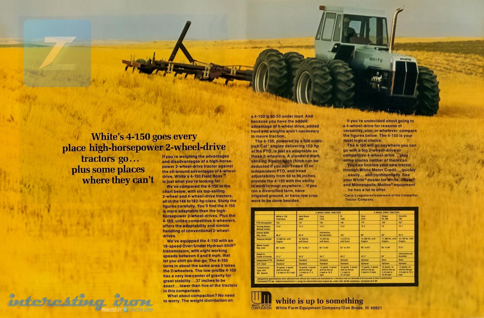 White 4 150 Brochure
