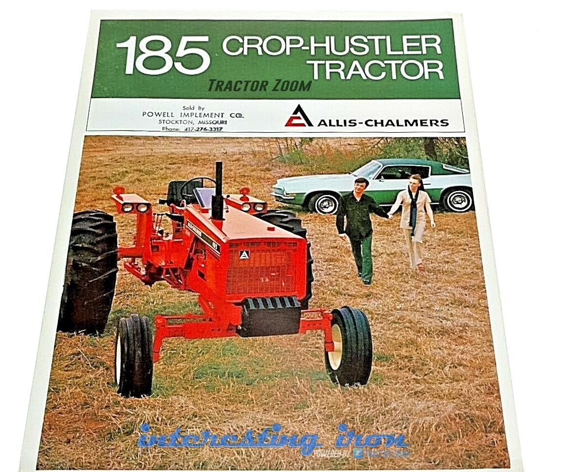 Allis Chalmers 185 Crop Hustler