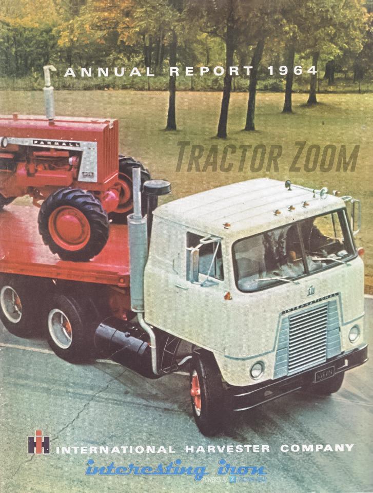 Farmall 806 1964 Annual Report cover