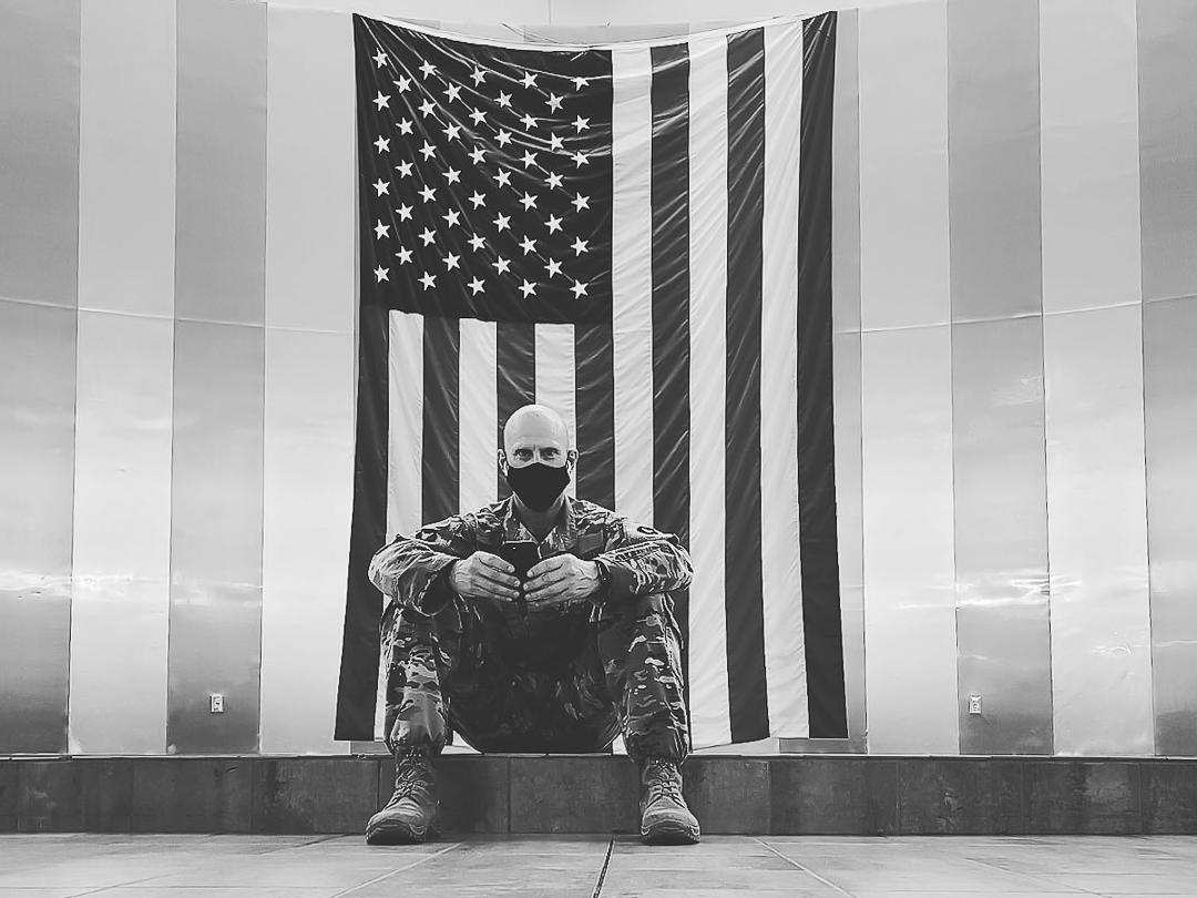 Major Gavin Sandvig Iowa Army National Guard 3