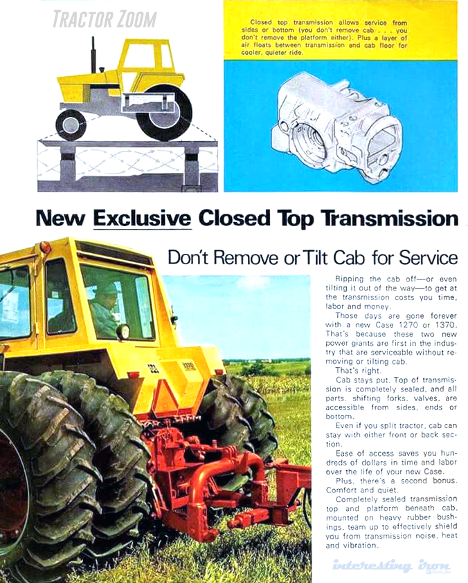 1370 Closed Top Transmission