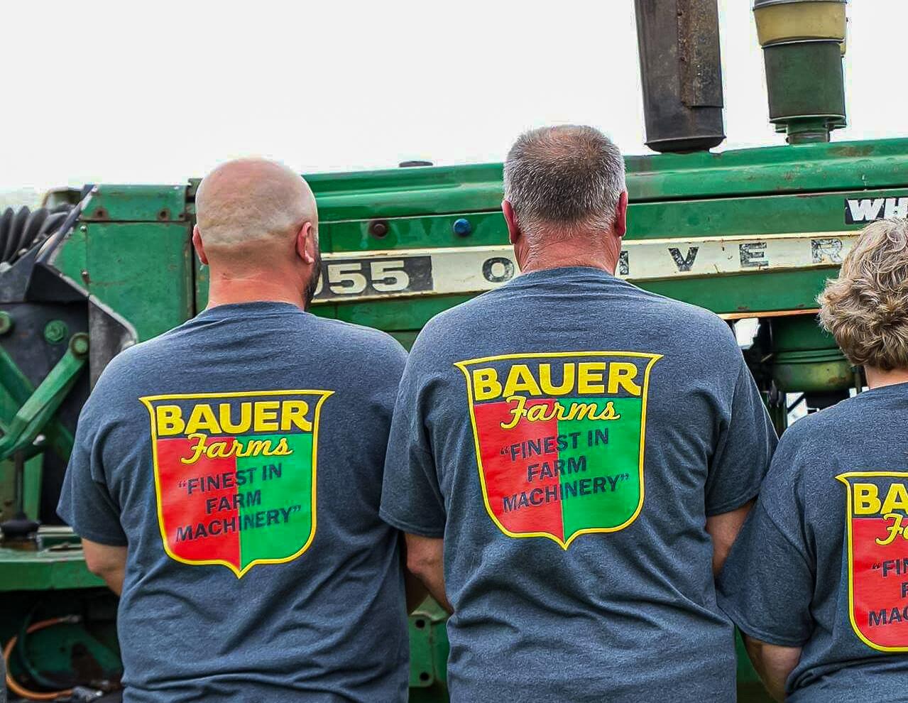 Clint Bauer Farms T Shirt