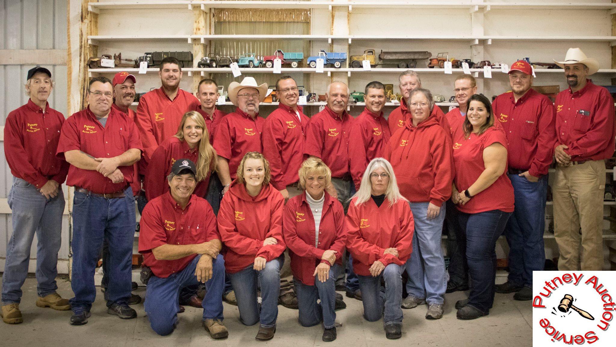 Putney Auction Service team photo