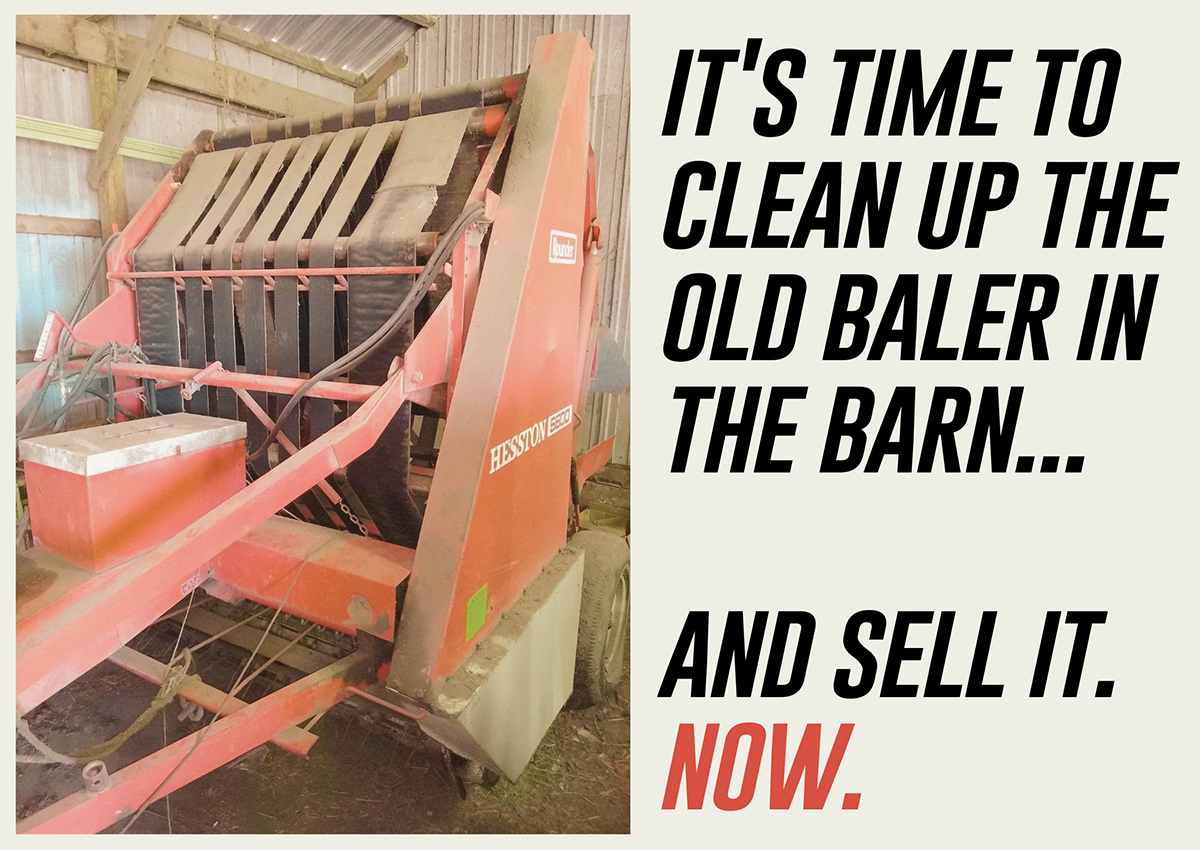 Is '21 The Year To Offload That Older Baler In The Barn