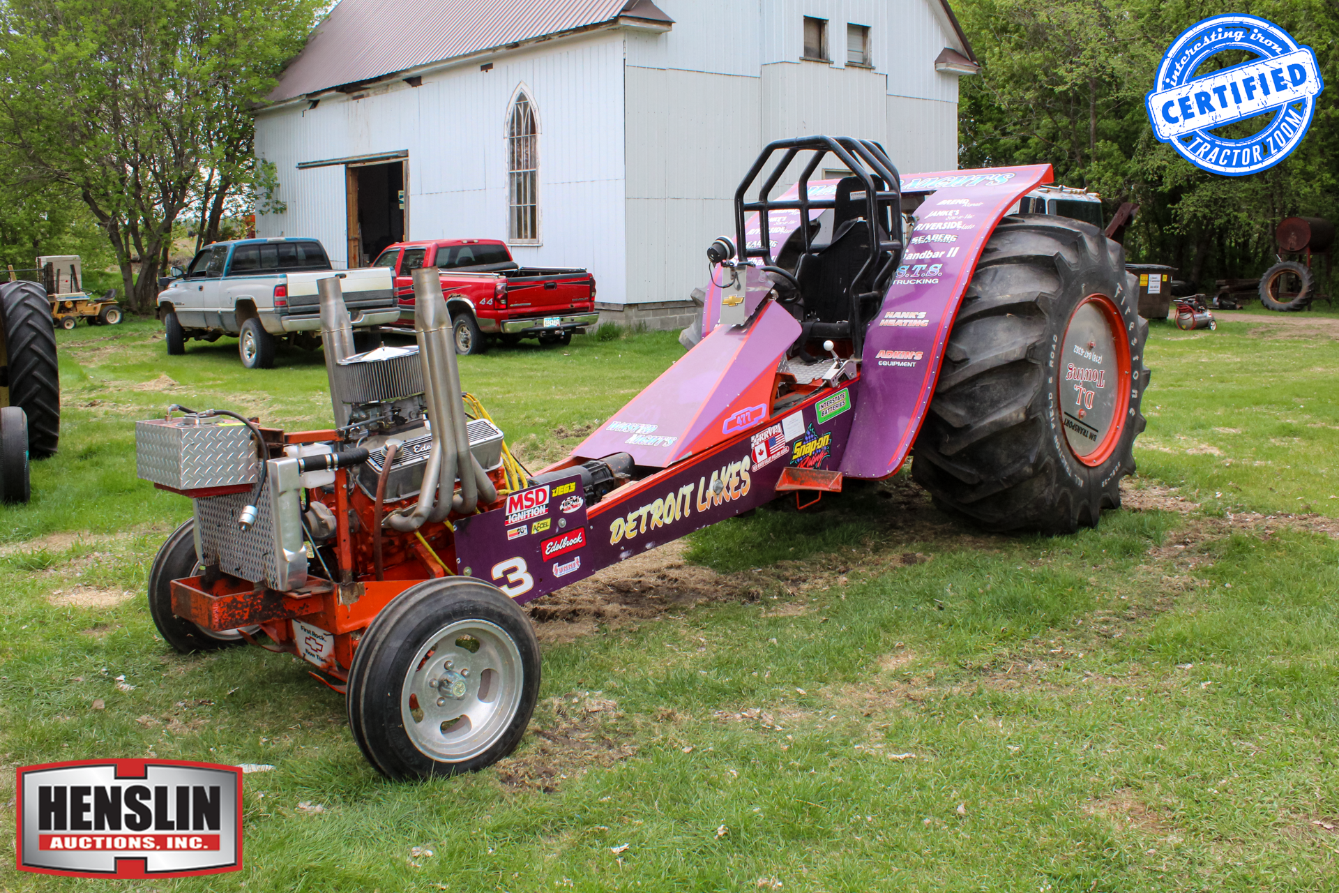 Wasted Nights Modified Pulling Tractor