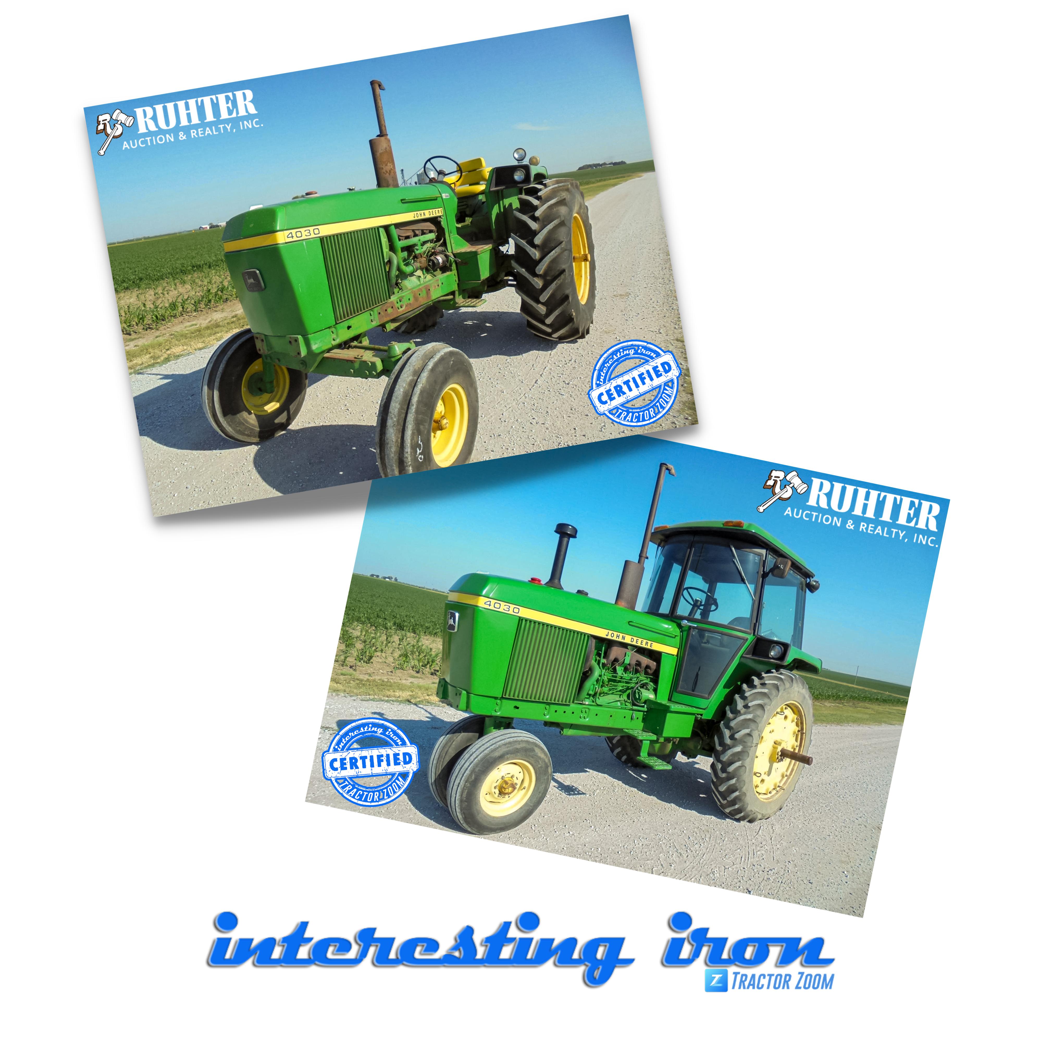 John Deere 4030 tractors
