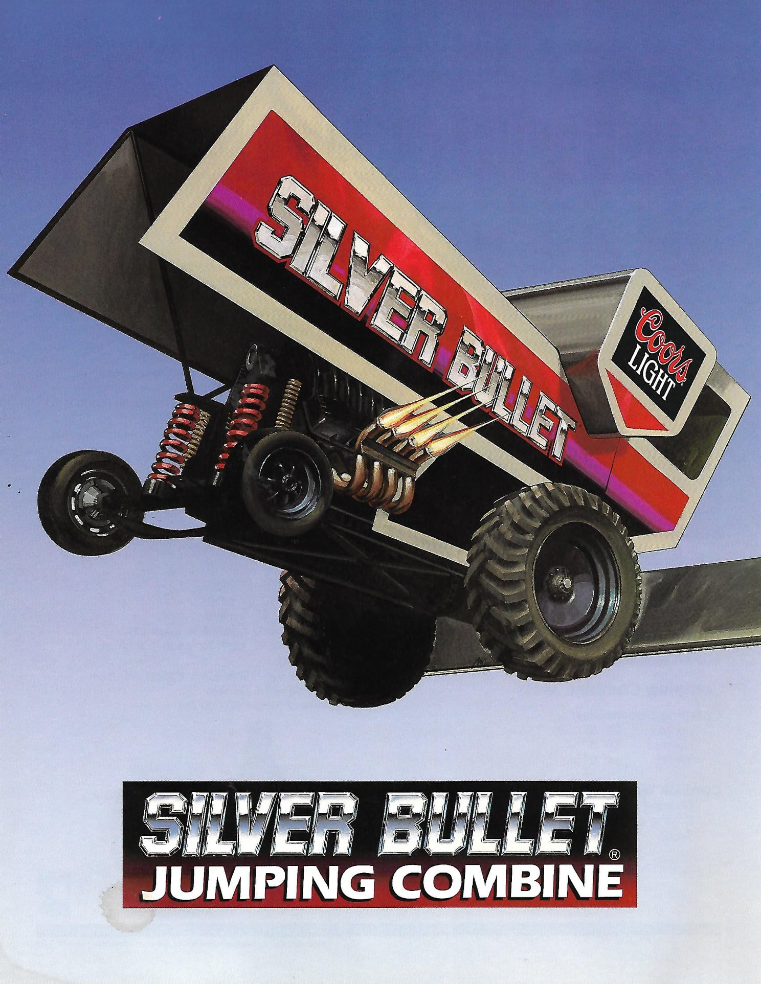 Silver Bullet Jumping Combine