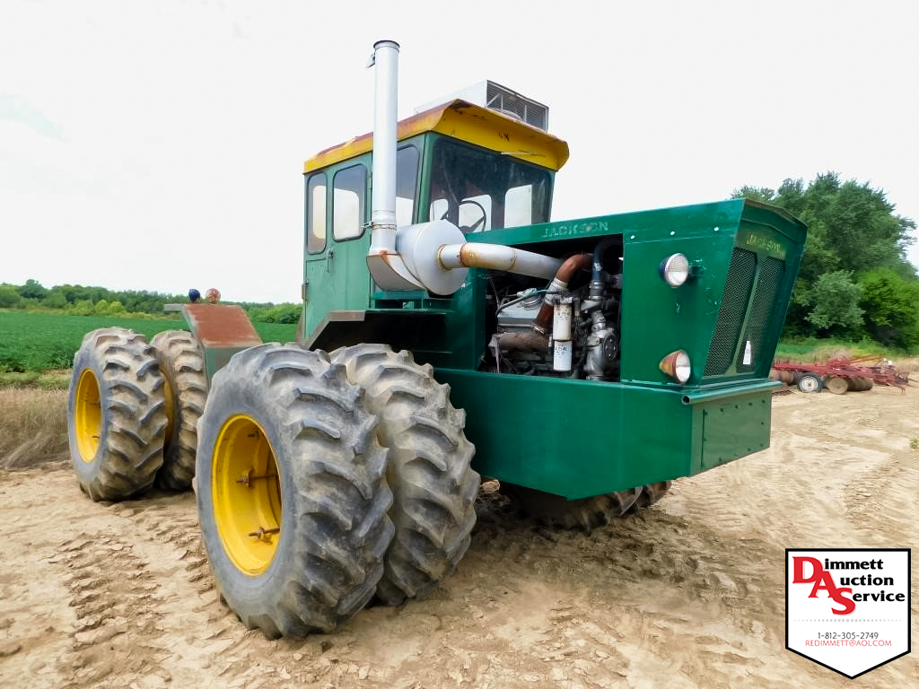 Jackson 4-44 tractor at auction