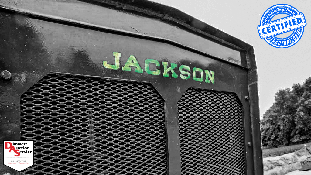 Jackson tractor front grill