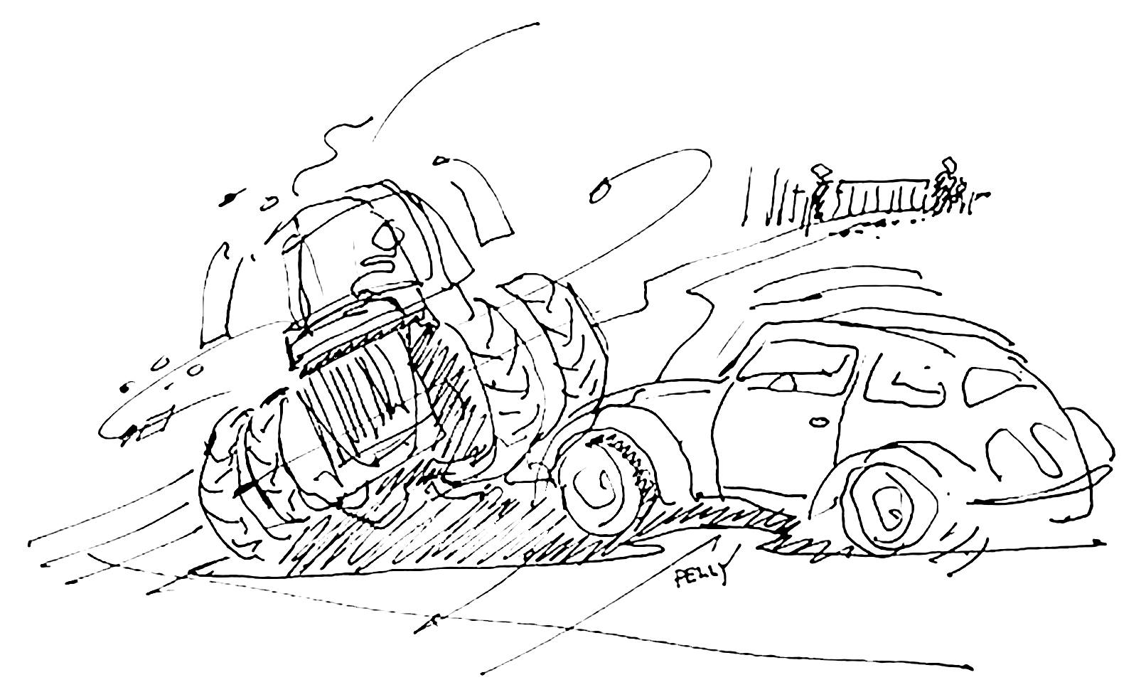 Chuck Pelly Sketch Octanepress
