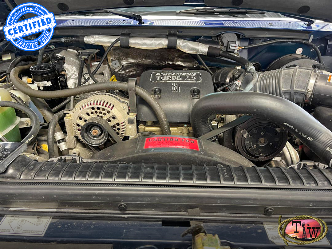 powerstroke v8 in a ford f-250