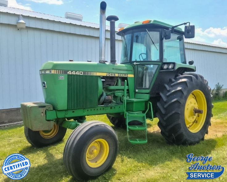 These days, survivor John Deere 4440s are anything BUT cheap horsepower!