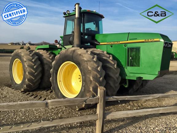 1996 John Deere 8870 tractor