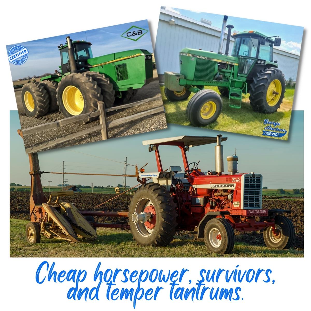 cheap horsepower and a survivor 4440