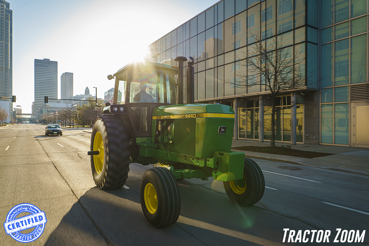 For a man from Tennessee, this John Deere 4440 actually was cheap horsepower...because he won it in our giveaway back in 2020!
