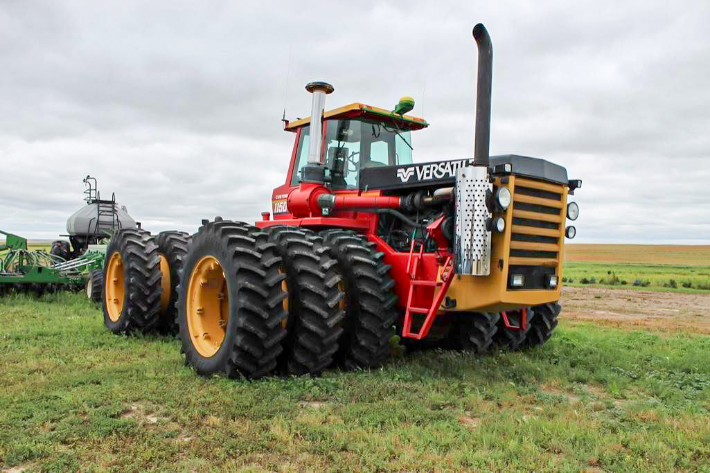 Versatile 1150 tractor at auction