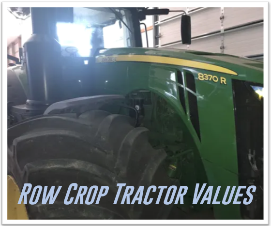 8370R Current Row Crop Tractor Values