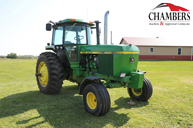 john deere 4640 tractor at auction