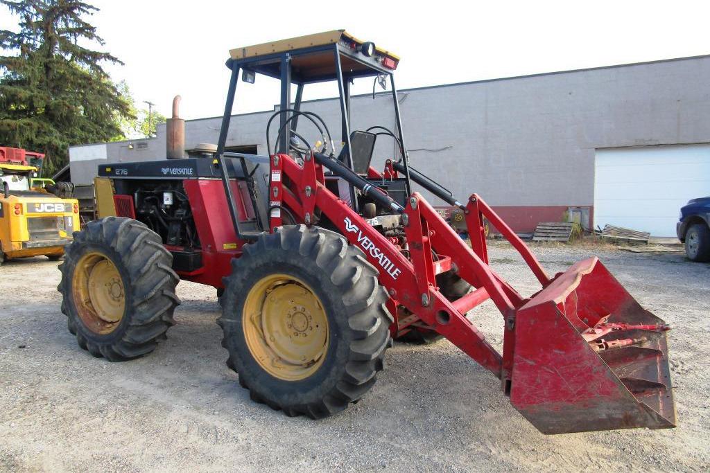 versatile 276 bi-directional tractor at auction